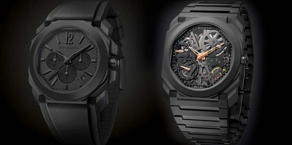 3e365f9a414f4 Bulgari Creates All-Black Watch Editions for its Octo Collection