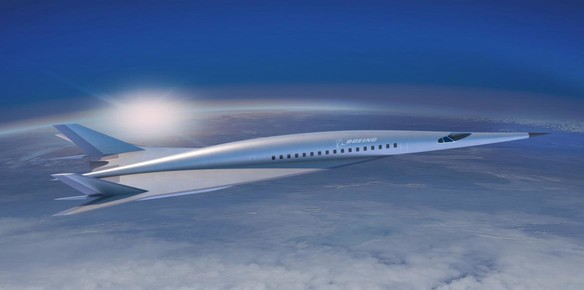 Boeing's Hypersonic Jet Concept Slashes Long Haul Flight Times