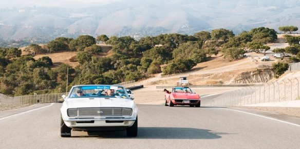 Convoy of Exotic Cars Celebrates Reopening of California's Highway 1