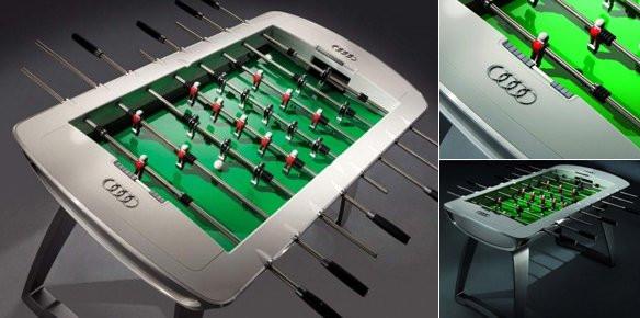 Leonhart Foosball Table The Audi Designed Foosball Table | superyachts.com