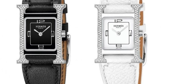 Hermès Heure H Double Jeu Watches Play with Light and Shadow
