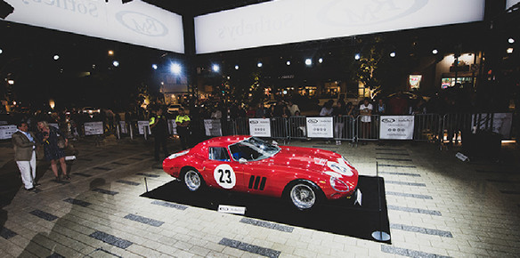 RM Sotheby's Sells Ferrari 250 GTO for World Record $48.4m