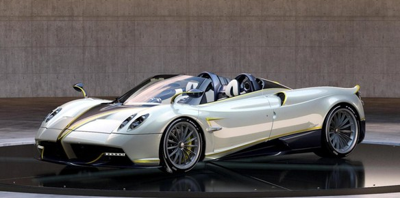 Pagani Special Edition Huayra Roadster Inspired by the Falcon
