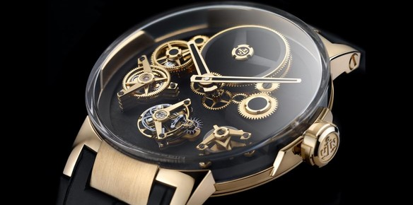 Ulysse Nardin Launch Executive Tourbillon Free Wheel Watch