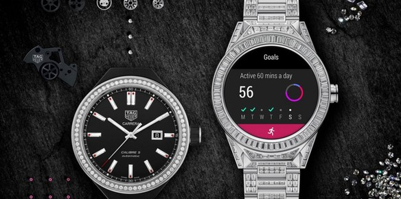 Tag Heuer Connected Modular Full Diamond: The World's Priciest Smartwatch