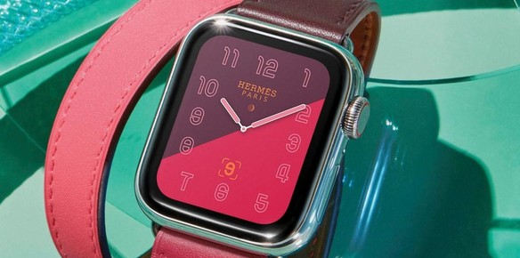 Apple Series 4 Smartwatch Gets the Hermes Treatment