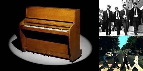 Challen Piano Beatles Road Upright Challen Piano