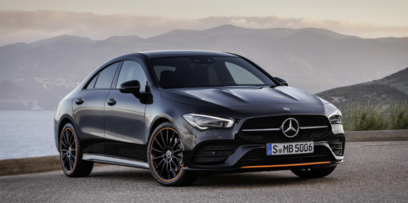 Mercedes-Benz CLA Coupé Offers Raw Emotion