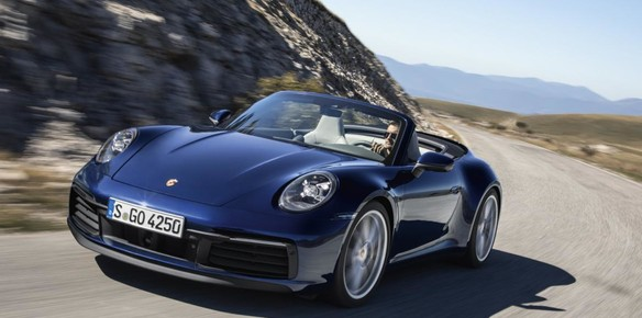 2020 Porsche 911 Cabriolet Soft Top Goes Official