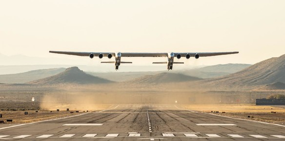 World's Largest Plane Takes to the Skies