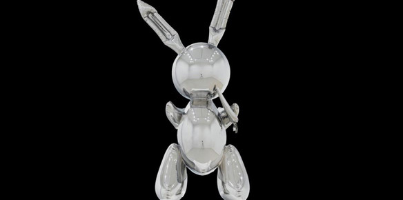 Jeff Koons 'Rabbit' Sculpture Expected to Fetch up to $70m at Auction