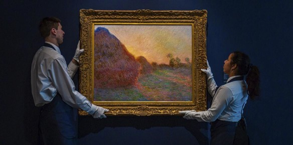 Monet Painting Sells for $110.7 Million