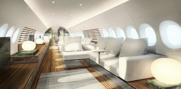 Lufthansa Reveals Yacht-Inspired VIP Cabin Concept