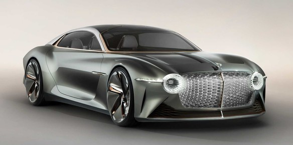 Bentley Showcase the Future of Luxury Electric Cars