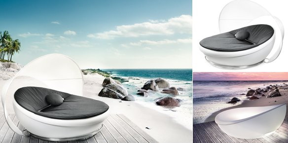 The Solpuri Lagoon Daybed Offers Style And Superyachts Com