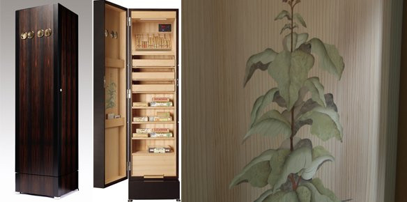 Swiss Watch Maker And Creator Of Unique Pieces For The Home, Bubenu0026Zörweg,  Has Created A Bespoke Cigar Closet That Utilises State Of The Art  Humidification ...