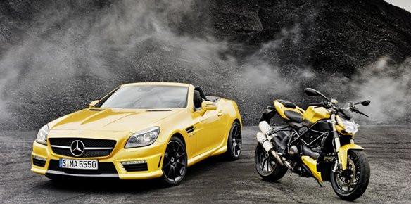 Mercedes And Ducati Showcase Marketing Superyachts Com