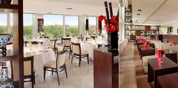 Royal garden hotel restaurant kensington