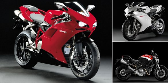 (Images courtesy of Ducati)