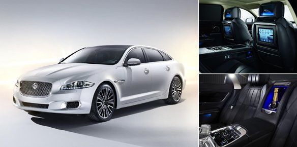 Jaguar XJ Ultimate Unveiled At Beijing Car Exhibition