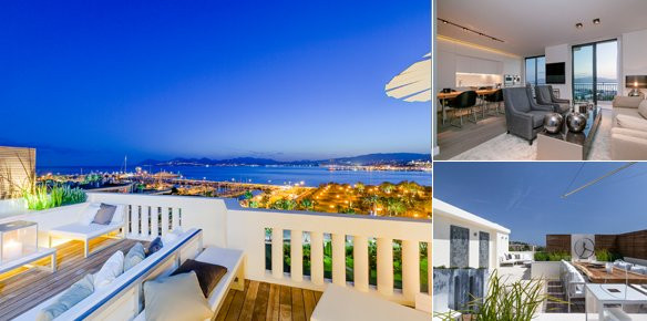Cannes Penthouse Offers the Best Seat in Town