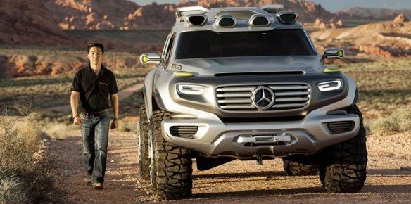 Mercedes To Present Suv Concept At La Auto Superyachts Com