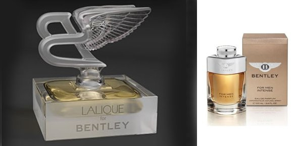 Bentley Launches First Fragrance Collection