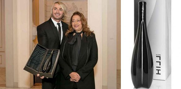 Zaha Hadid Designs Limited Edition Wine Bottle