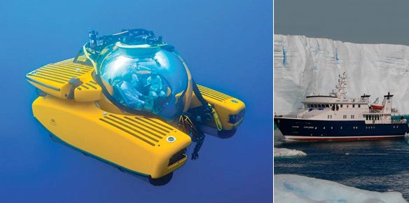 LEFT PHOTO: Courtesy of South Florida Dive Journal RIGHT PHOTO: EYOS Expeditions