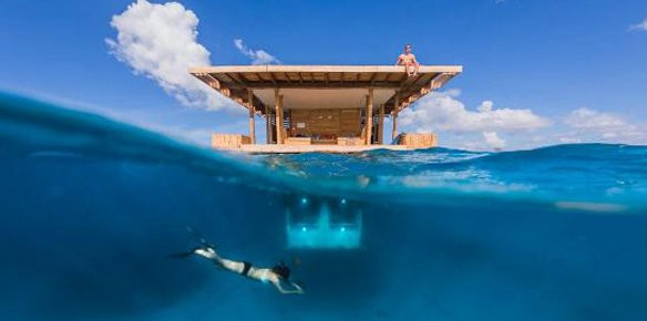 Tanzania Resort Offers Underwater Bedroom