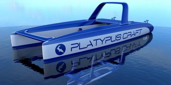 Platypus Underwater Exploration Vehicle Unveiled