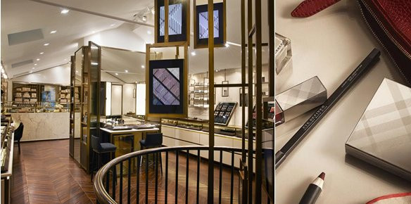 Burberry Opens 'Beauty Box' Store in London