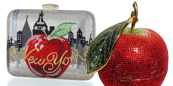 Judith Leiber handbags are street stand-outs