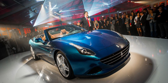 Ferrari California T Dazzles Guests at UK launch