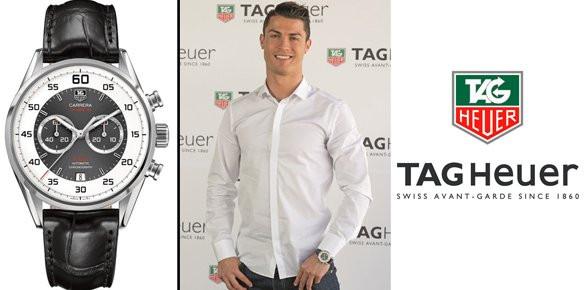 Christiano ronaldo named as brand ambassador for Tag heuer c ronaldo