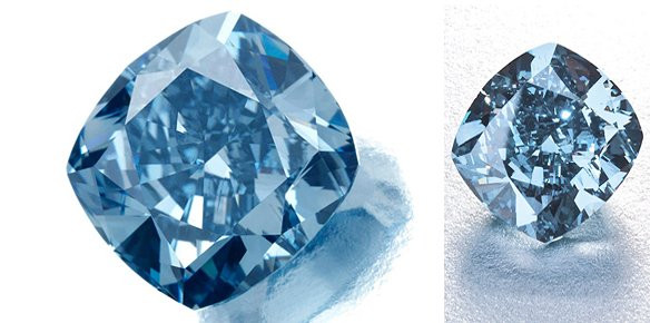 Petra Blue Diamond Quot Star Of Josephine Quot Breaks