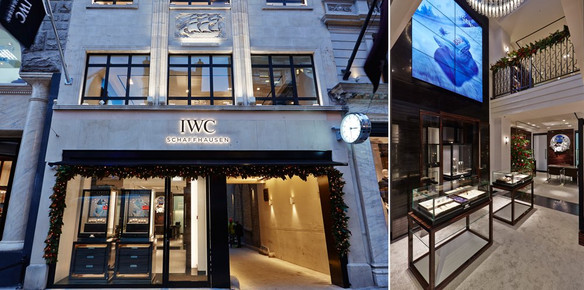 IWC Open First UK Boutique