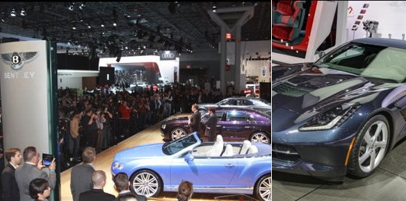 Luxury Car Makers Take New York Auto Show by Storm