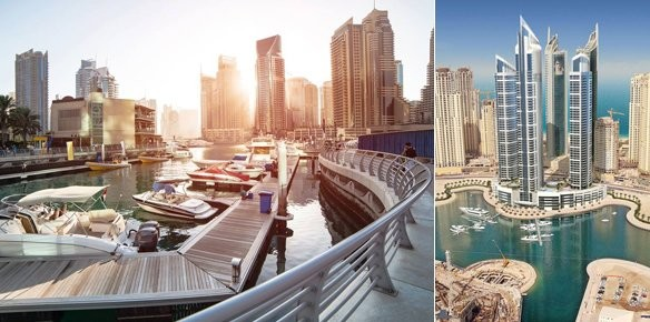 Intercontinental dubai marina opens in bay for Luxury hotels in dubai marina
