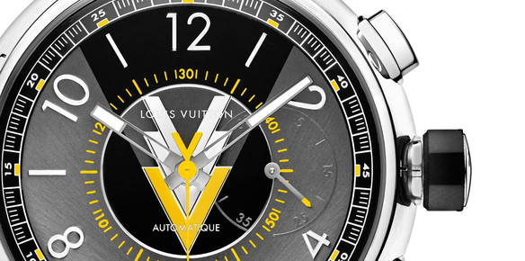 Louis Vuitton Men's Watches Feature Iconic VVV Logo
