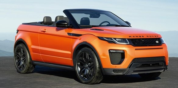 Land Rover Launches World's First Luxury Compact SUV Convertible