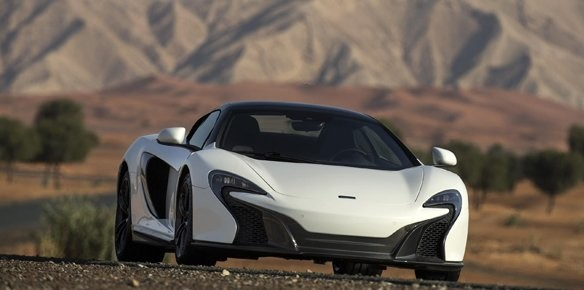 McLaren Debut Special Edition Spider for Middle East