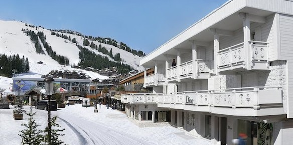 Lvmh to open new boutique ski hotel in france for Boutique hotel ski