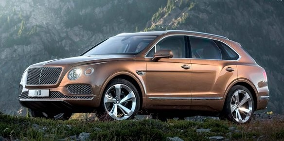 Bentley Bentayga Rolls Off Production Line