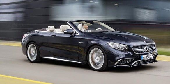 2016 Mercedes-AMG S65 Cabriolet Unveiled