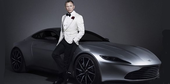 Christie's to Auction Aston Martin DB10 from 'Spectre' Movie