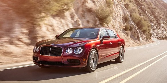 Bentley to Unveil Flying Spur V8S at Geneva Motor Show