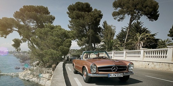 Mercedes Benz Creates Classic Travel Program