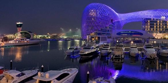 Yas Marina Launch Berth Offers For Abu Dhabi Grand Prix