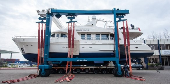 Moonen Shipyards Launch Major Refit Project